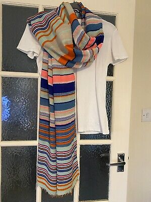 £2.30 • Buy Gorgeous Striped Gap Scarf / Stole / Wrap / Coverup