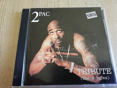 £15 • Buy 2PAC - Tribute THE SINGLES  CD  Unofficial Death Row Records Rap Hip Hop