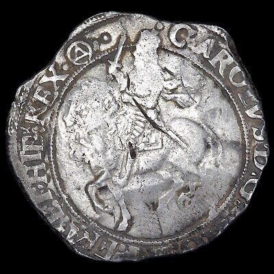£275 • Buy Charles I, 1625-49. Halfcrown, Mm. Triangle In Circle, 1641-3. Group IV.