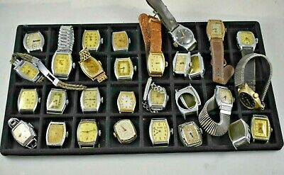 $ CDN13.07 • Buy Vintage Mixed Lot Of Low Grade Dollar Wrist Watches For Parts & Repair Lot.e