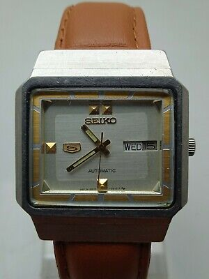 $ CDN48.72 • Buy Seiko 5 Automatic 4216-5120 Day/Date Vintage Watch Form Men's