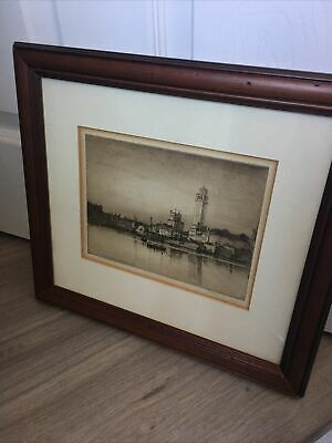 £24.99 • Buy Pencil Etching Signed!!! Picture