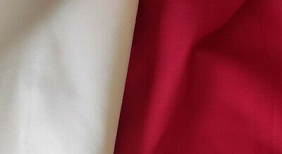 $4.13 • Buy Blackout Ruby Red Fabric 2m Long  X 1m Wide
