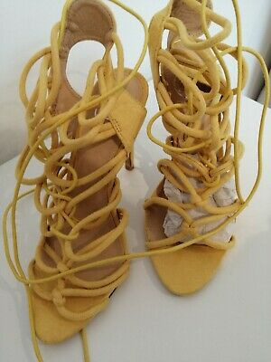 £10 • Buy Missguided Rope Tie Shoes Size 5