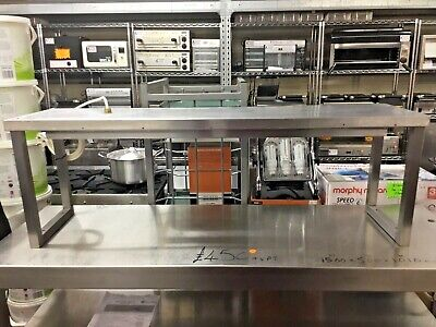 £244.99 • Buy 1.21m Heated Gantry 1 Tier With 3 Heat Lamps Chefs Pass Through Catering