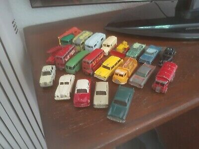 £10 • Buy Matchbox Lesney Vintage Diecast Vehicles Job Lot X 20 And One Budgie Police Car