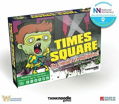 £16.99 • Buy City Of Zombies Times Square Educational Maths Game - Age 7+ - New And Sealed