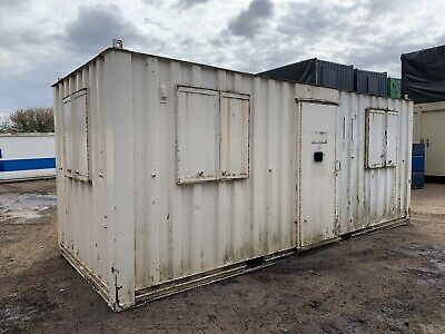£3500 • Buy 20ft Portable Office Canteen Site Cabin Welfare Unit