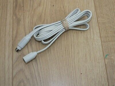 £15.99 • Buy Bose Link Mini Din 9 Pin B Type 5ft Extension Cable Male Female WHITE