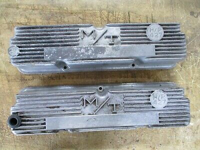 $200 • Buy Vintage M/t Mickey Thompson Ford Mercury 427 H/p Valve Covers Ford Fe 3923800