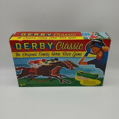 £16.57 • Buy Derby Classic The Original Family Horse Race Game Race Track UNUSED TESTED
