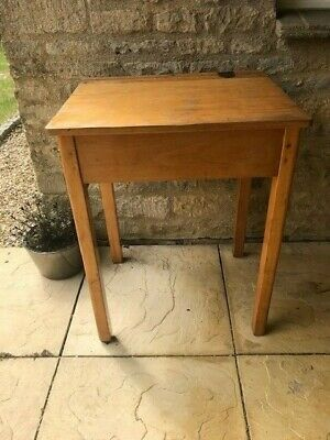 £19 • Buy Vintage Wooden School Desk, Used, Good Condition Given Age