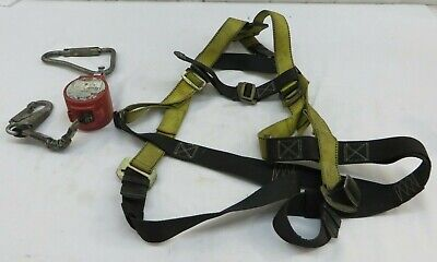 $53.95 • Buy Guardian Fall Protection 01700-QC Harness S-L & Miller MiniLite Fall Limiter