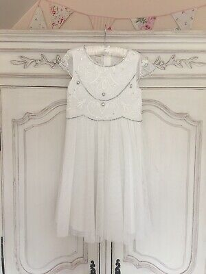 £6 • Buy MONSOON BRIDESMAID PARTY FLOWER GIRL DRESS SIZE 9 Years