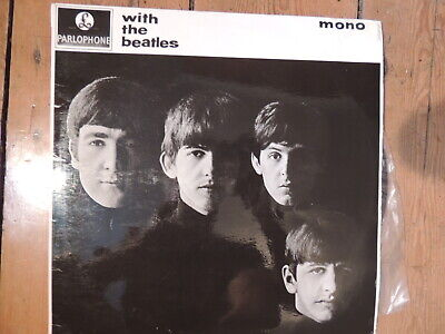 £19.99 • Buy BEATLES - WITH THE BEATLES Parlophone LP PMC 1206 Near Mint
