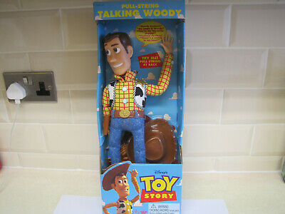 £200 • Buy 1995 Toy Story ' Pull - String Woody '  MINT NEVER OPENED