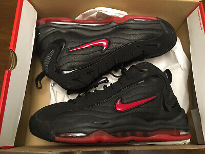 AU278.93 • Buy Mens Nike Air Total Max Uptempo Bred Size 13 New DS 2021 Black Red