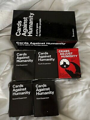 AU19 • Buy Cards Against Humanity Full Set + Crabs Adjust Humidty All Expansions Base Set
