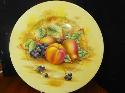 £25 • Buy Aynsley Orchard Gold Cabinet Plate (10.5 )