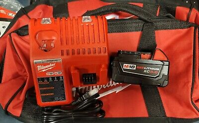 $105 • Buy Milwaukee M18 RedLithium XC 5.0 Starter Kit With One Battery, Charger & Bag NEW