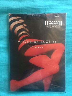 £10 • Buy Wolford Velvet De Luxe 66 Tights Ladies Size Small Slightly Imperfect New.