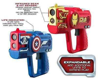 £19.99 • Buy Avengers Laser Tag Blasters For Kids Infrared Sensors With Lights And Sounds