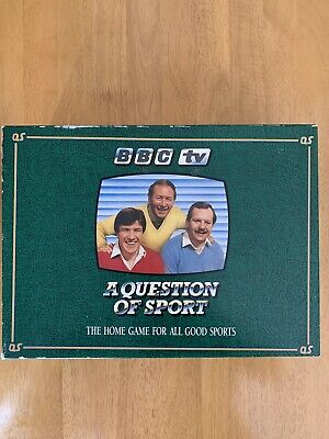 £43 • Buy Question Of Sport Board Game (1986) Mint Condition But Picture Cards Missing