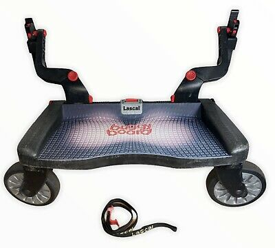 £34.99 • Buy LASCAL BUGGY BOARD Pushchair Ride On Platform With Uncut Connectors & Strap