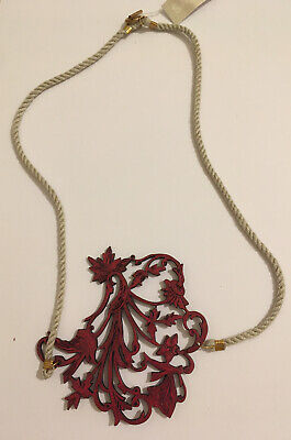 £5.60 • Buy Brand New Large Laser Cut Necklace