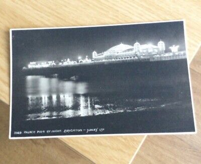 £0.99 • Buy Postcard Brighton Palace Pier By Night Post Card Old