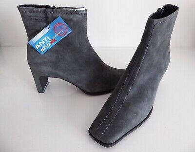 £4.75 • Buy New Tamari Grey Suede Ankle Boots, Size 6.5 (40)