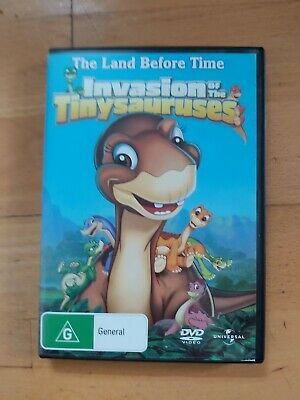 £2 • Buy The Land Before Time XI: Invasion Of The Tinysauruses - DVD