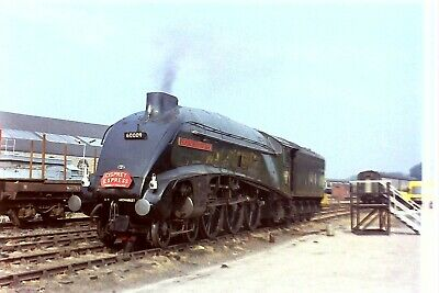 £1.95 • Buy 35mm Railway Colour Negative A4 60009 At Inverness