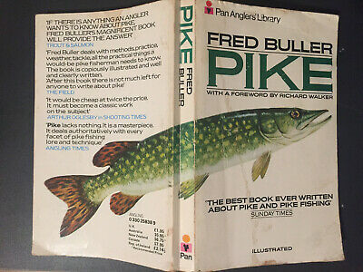 £10.25 • Buy 1979 - PIKE By Fred Buller - Pan Angler's Library Rare Paperback (personal Copy)