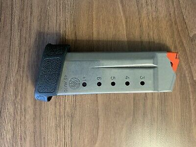 $38 • Buy Smith Wesson M&P Shield 45 Magazine Mag Clip FACTORY OEM 7 Round With Pinky