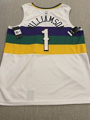 $79.99 • Buy ZION WILLIAMSON New Orleans Pelicans City Edition Jersey XXL 100% Authentic NEW