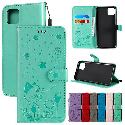 AU14.89 • Buy For Oppo A31 A52 F17 F19Pro A94 Realme C11 3 5 6 7 8Pro Flip Leather Wallet Case