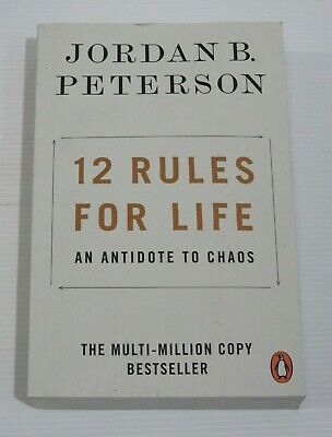 AU7.99 • Buy 12 Rules For Life An Antidote To Chaos By: Jordan B. Peterson