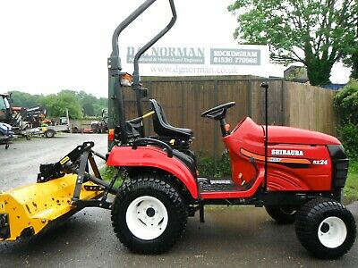 £4500 • Buy Compact Tractor Shibaura SX24 With Flail Mower