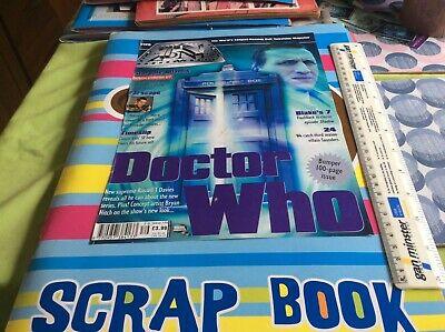 £50 • Buy Doctor Who Scrapbook Vol 5. With Signed Ace Photo. Dr Who Weetabix Scene