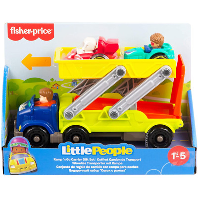£19.99 • Buy Fisher-Price Little People Ramp N Go Carrier Gift Toy Set 18 Months New HBX23