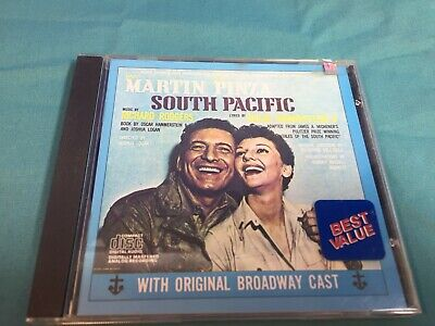 £3.59 • Buy Martin Pinza South Pacific  Used Cd