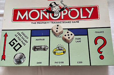 £7 • Buy Monopoly Board Game Classic 1996 EDITION  By Waddingtons (Tonka)