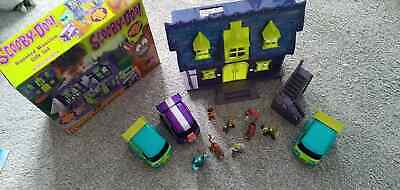 £35.99 • Buy Scooby Doo Haunted Mansion Playset Plus Extra Figures/car