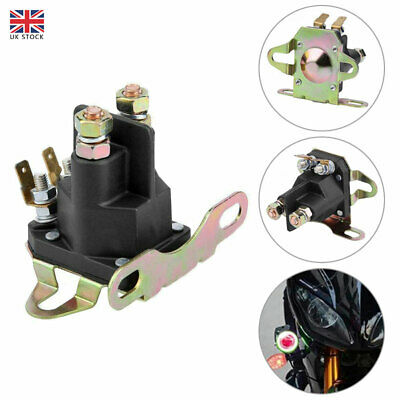 £9.52 • Buy 4-pole Starter Solenoid Relay For BRIGGS STRATTON Motorboat Lawn Mower Universal