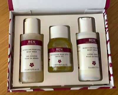 £12.99 • Buy Ren Moroccan Rose Otto Clean Skincare Gift Set
