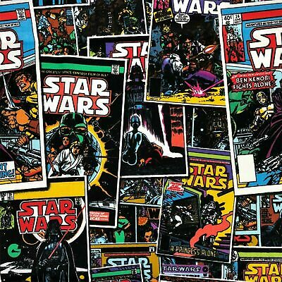 £3.99 • Buy Star Wars Fabric • Comic Book Characters • 100% Cotton Material