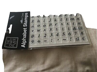 £1.75 • Buy Clear Stamps In Lower Case Alphabet X More New