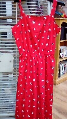 £0.99 • Buy Red Summer Trouser Suit New Look 915 Aged 15yrs Would Fit Adult Size 10/12