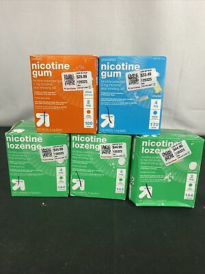 $ CDN123.84 • Buy UP & UP Nicotine 4mg Mint Flavor 702 Lozenges / Gum 2021 Dates. Factory Sealed